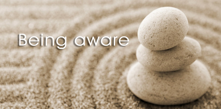 Being aware pic